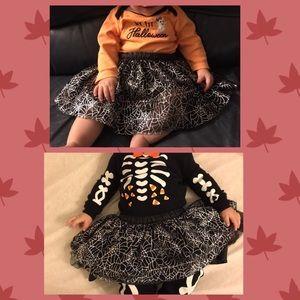 Cat & Jack Spiderweb Tutu Skirt